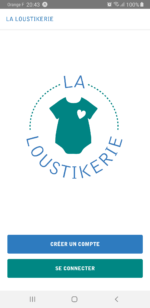 Application La Loustikerie - vêtements seconde main bébé Nantes