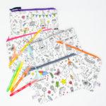 Trousses lavable à colorier (existe en format feuille)