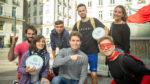 Les supers seaux en mission dans les rues de Nantes