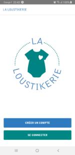 Application La Loustikerie - vêtements seconde main bébé Nantes